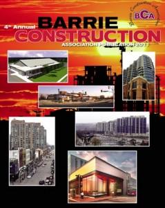 Barrie Construction Association report 2011