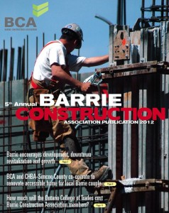 Barrie Construction Report cover