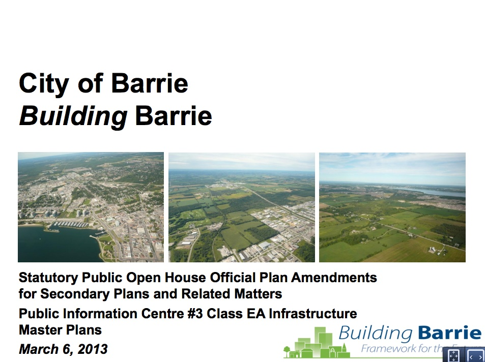 barrie expansion city