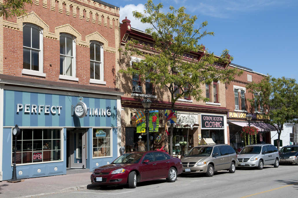 orillia downtown