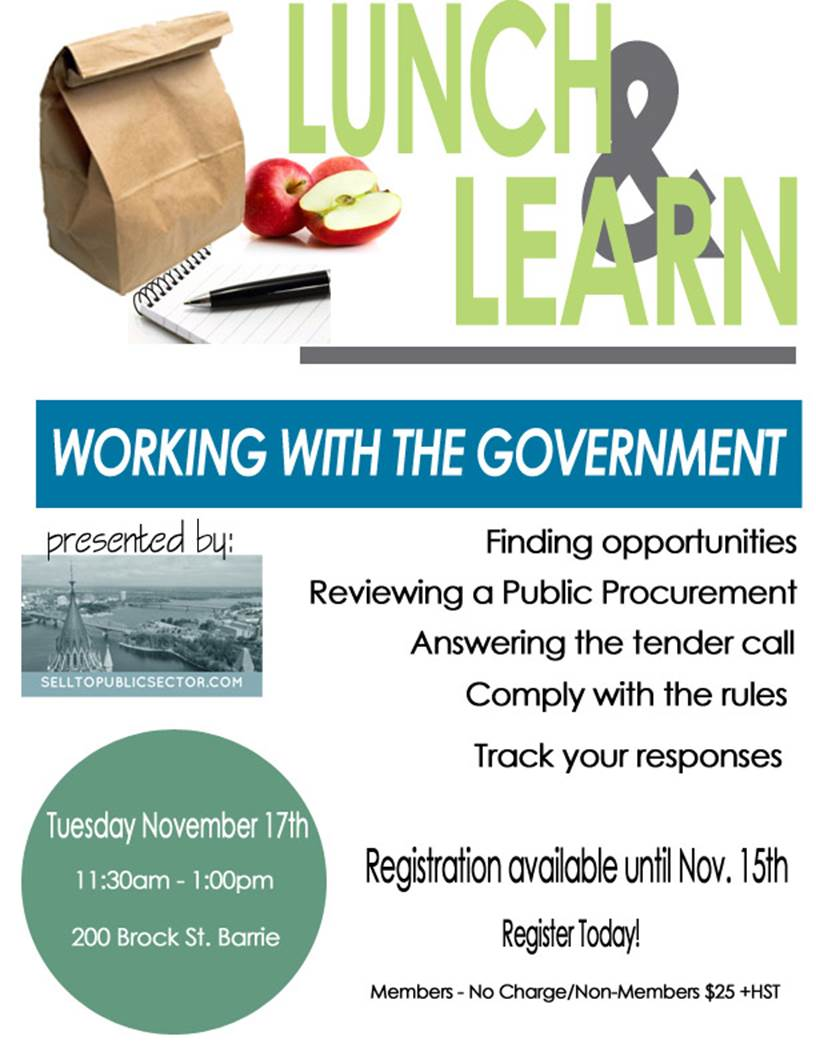 lunch and learn nov 17