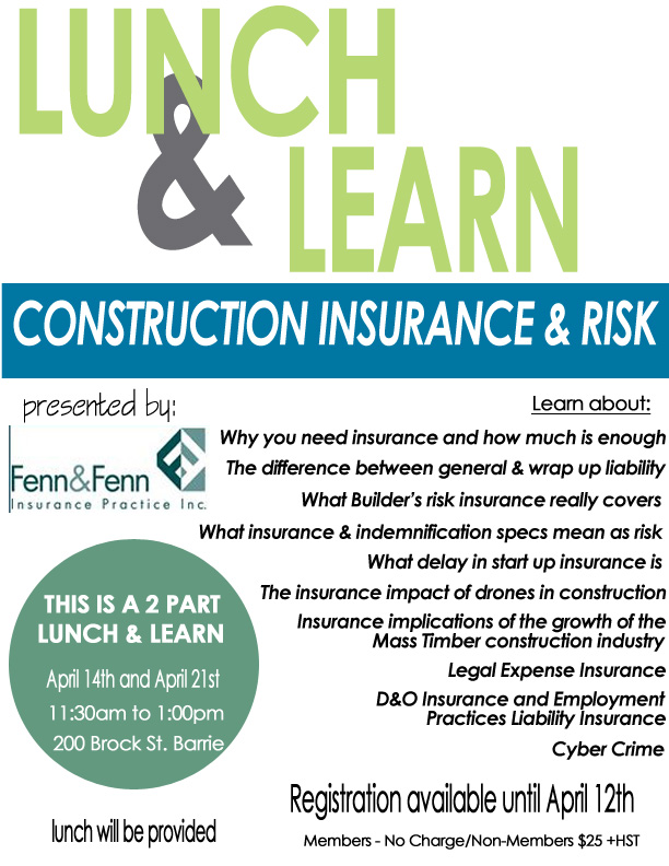 insurance lunch and learn bca