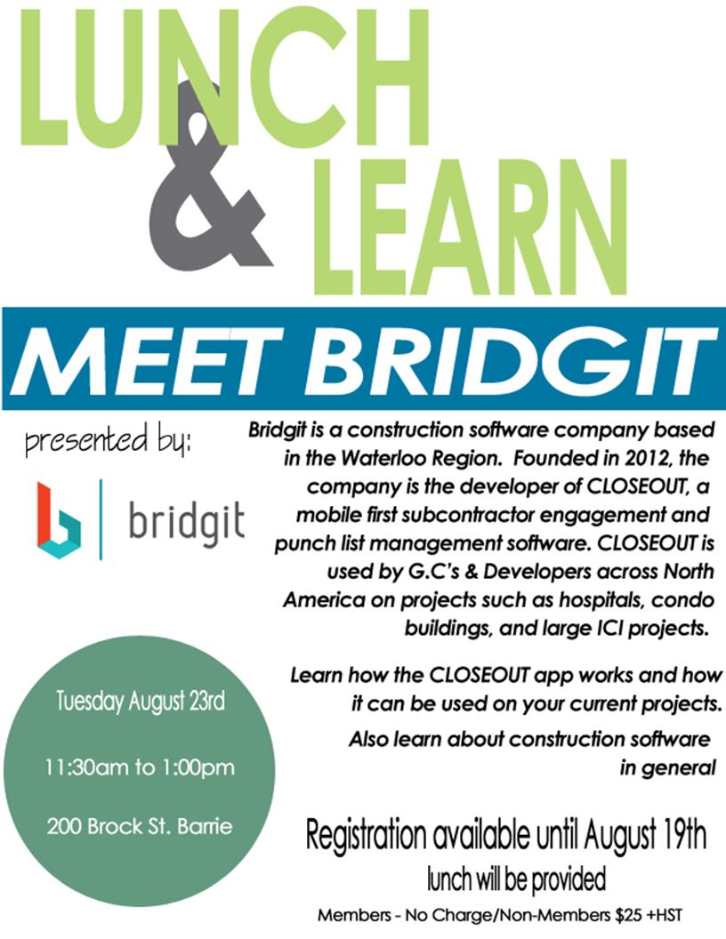 bridgit lunch and learn