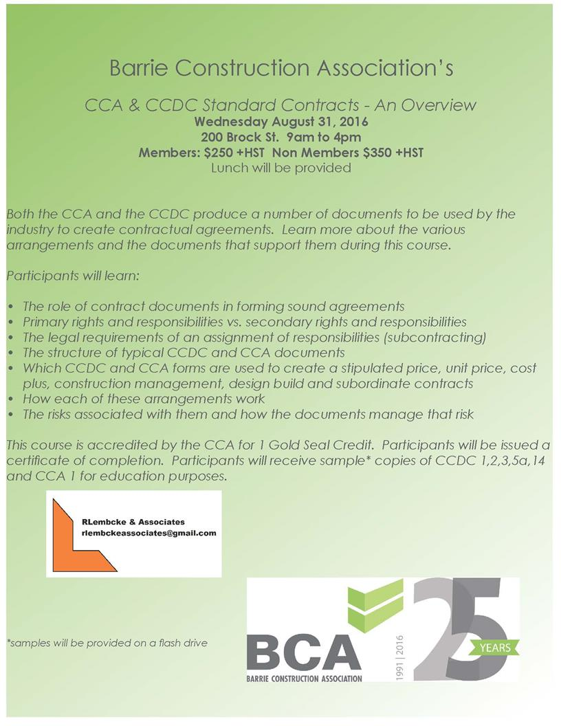 cca ccdc contracts