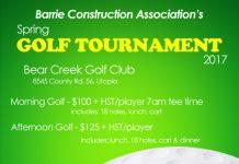 BCA golf tournament