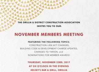 odca november 2017 members meeting
