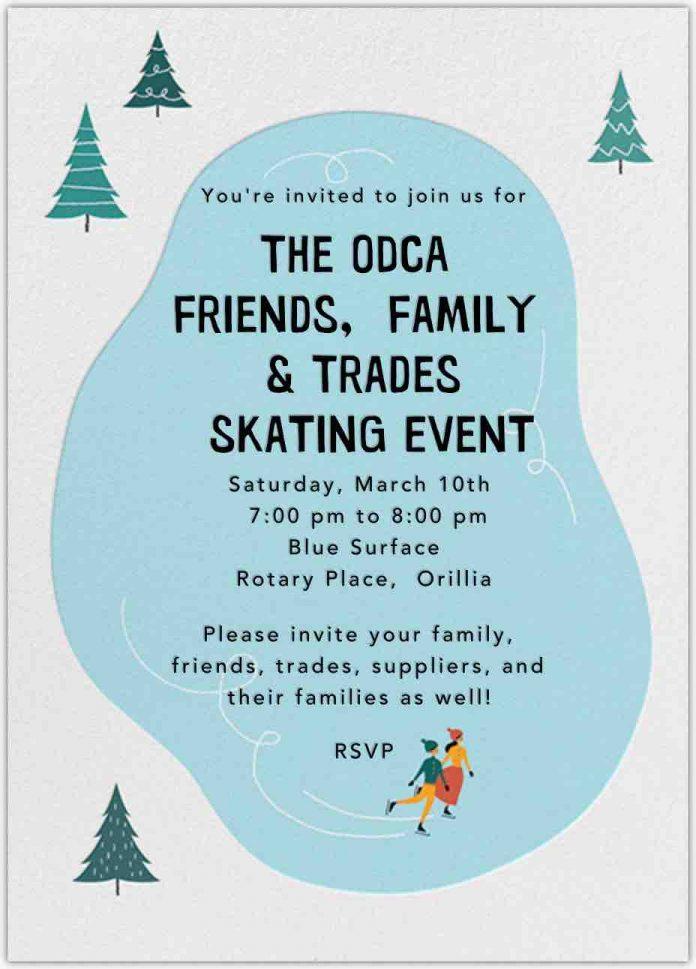 odca skating event
