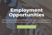 BCA employment opportunities page